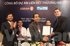 Sản xuất đèn chất lượng cao Osram của Đức tại VN